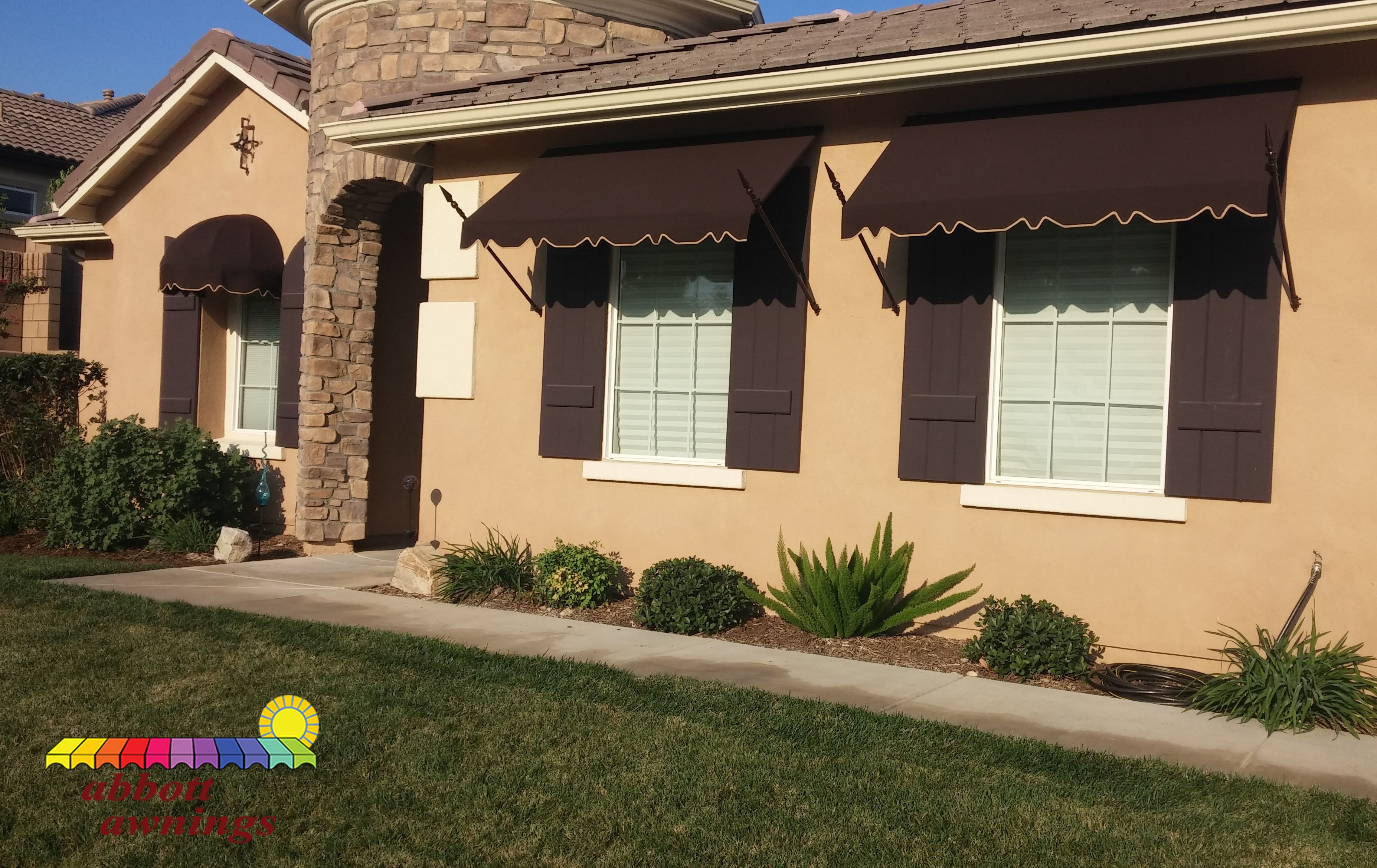 The sun is still out in CA! Get your awnings from # ...