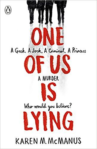 Image result for one of us is lying book cover pinterest