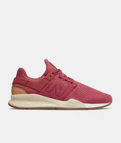New Balance - Earth Red MS247 GS Shoes - EARTH RED   8