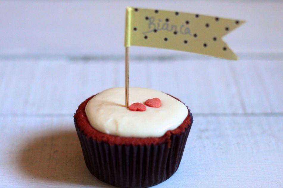 Tapas na Língua: Red Velvet Cupcakes