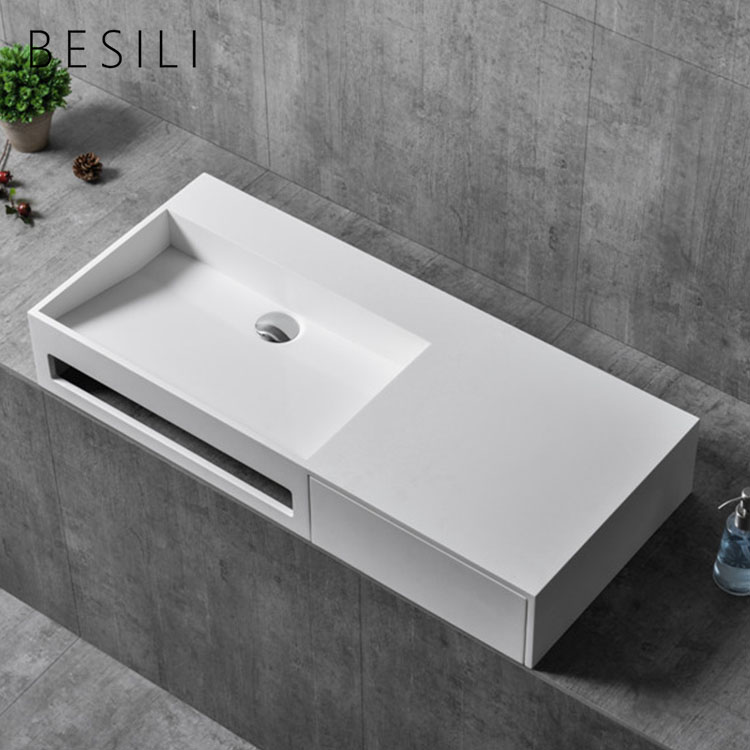High Quality Bathroom Vanity Sink Wall Hung Solid Surface Basin Stone Small Size Wash Basin View Small Size Wash Basin Besi In 2020 Vanity Sink Sink Sizes Wash Basin