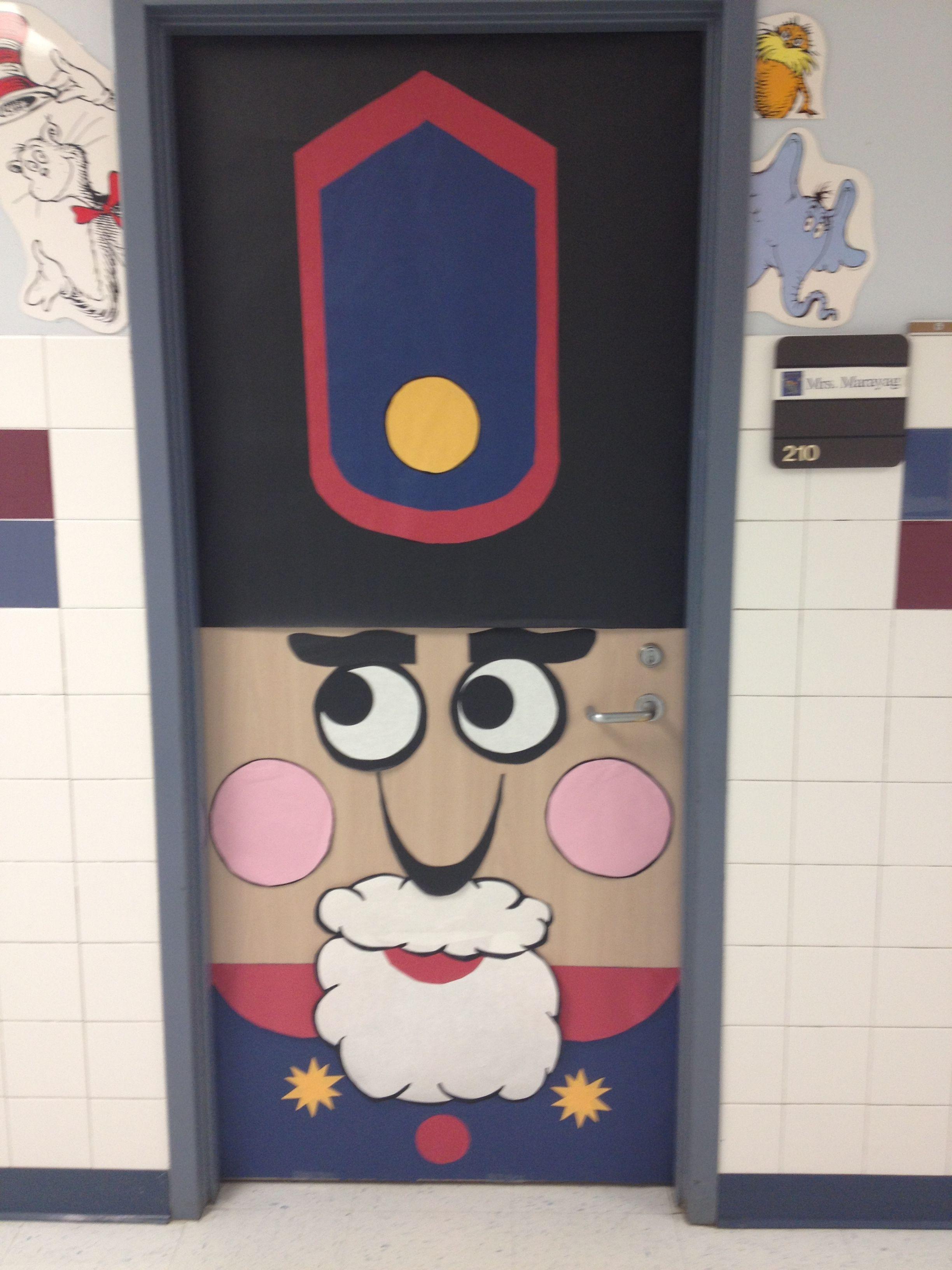 Nutcracker Door 1   Cloverleaf Teachers   Pinterest ...