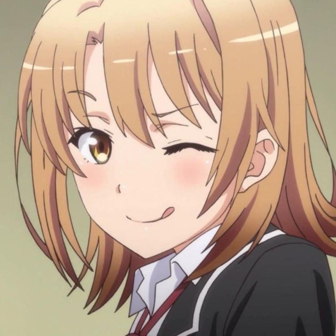 Isshiki Iroha Oregairu Gambar Gambar Karakter Animasi