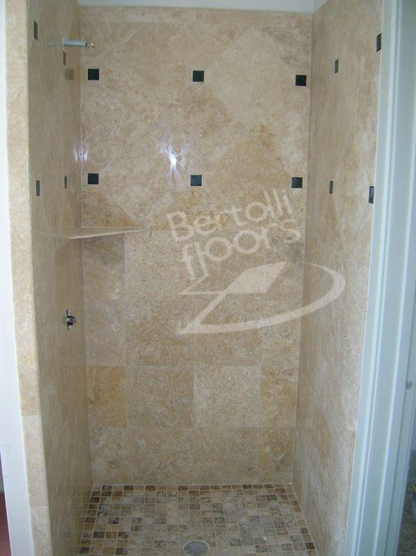 diagonal tile bathtub | Diagonal installation with dots