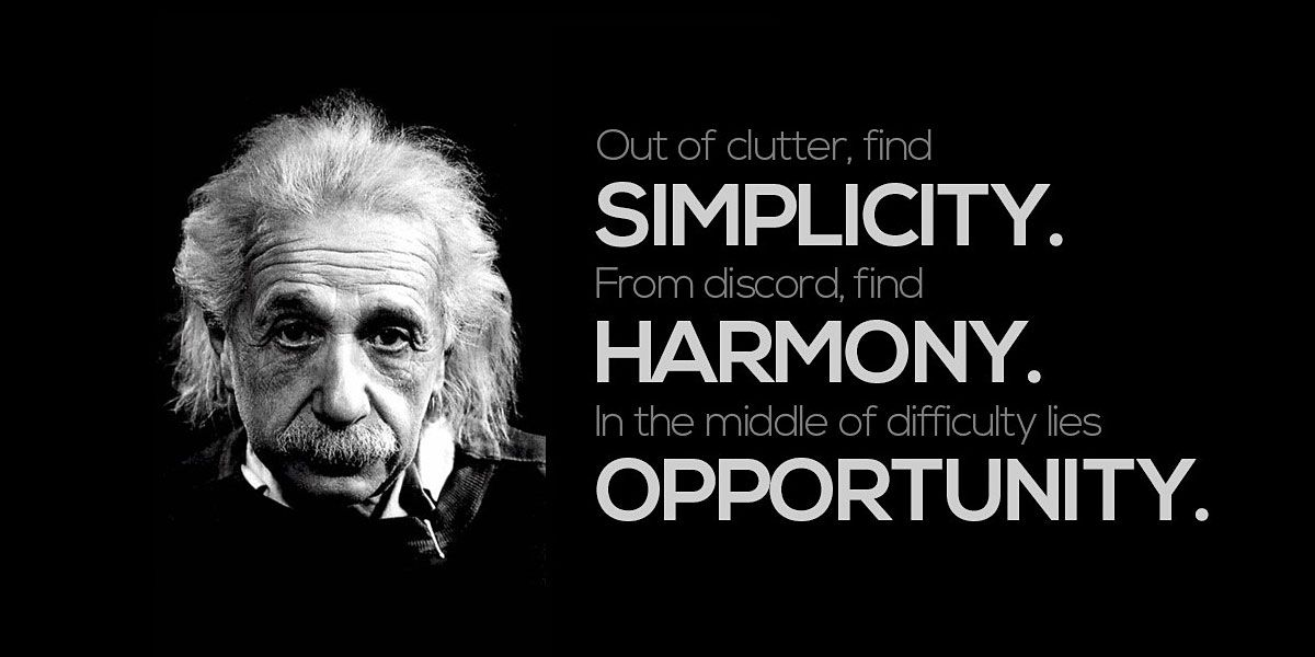 Simple Timeless Quote (With images) Einstein quotes