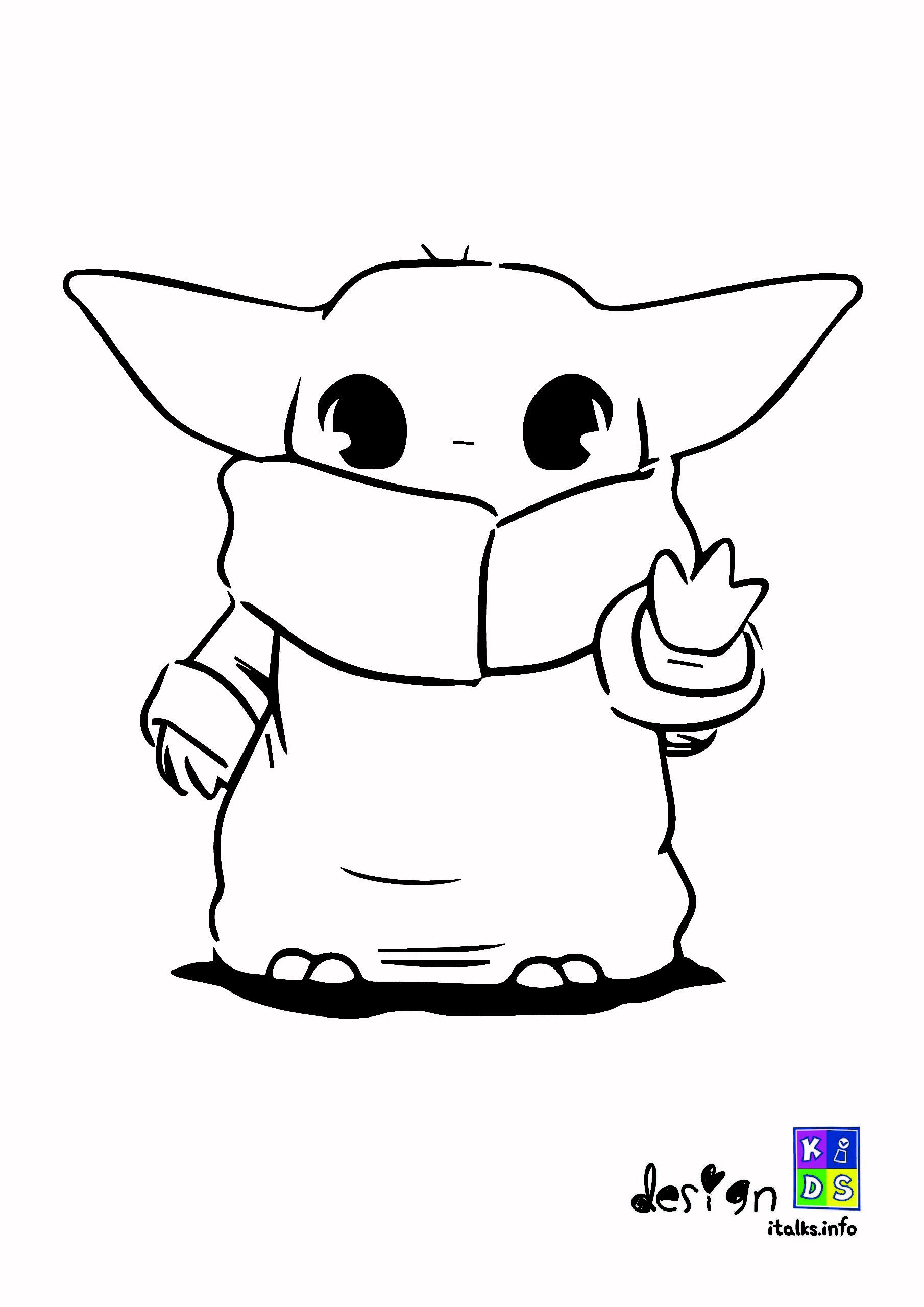 Baby Yoda Coloring Images In 2020 Coloring Pages Yoda Coloring Books