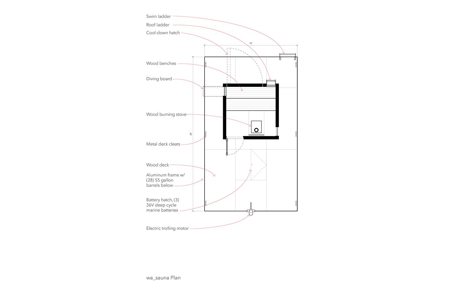 A Sauna In The Middle Of Lake Wa By Gocstudio Saunas Wiring Diagram