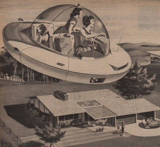 """Your Personal """"Flying Carpet"""" (1959)"""