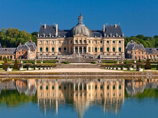 Château de vaux le vicomte has featured in films like moonraker and the man in the iron mask