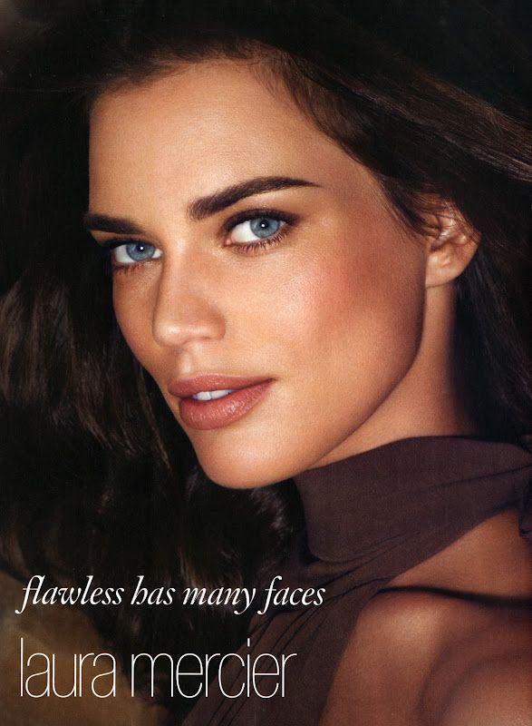 Laura Mercier 2012 Cosmetics Campaign Rianne Ten Haken by Michelangelo di Battista
