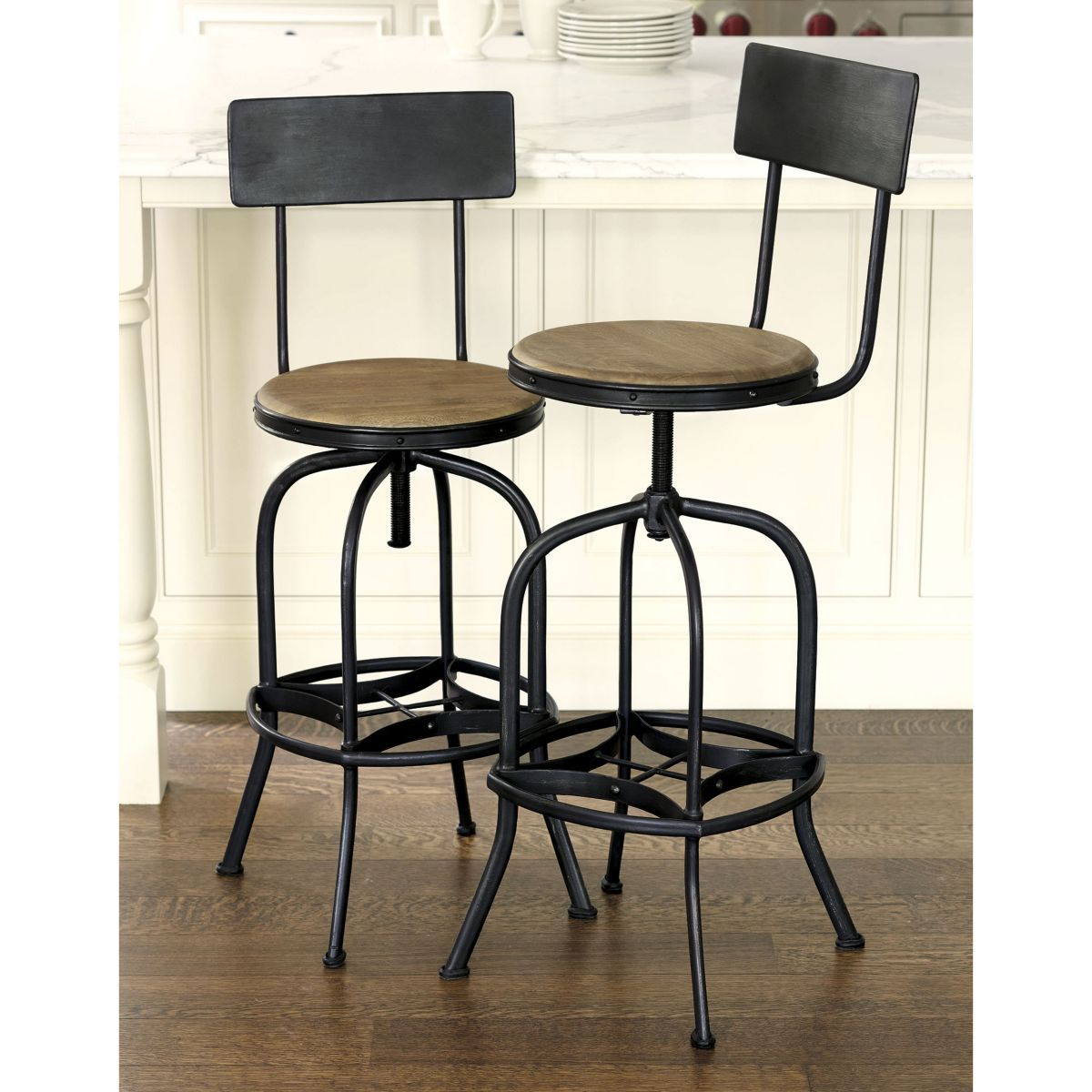 allen swivel bar stool with back | for the home | stool, ballard