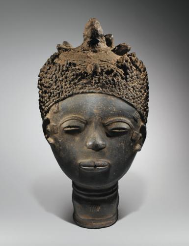 Tete Commemorative Akan Ghana Akan Commemorative Head Ghana Haut 35 Cm African Art Art Art Historian