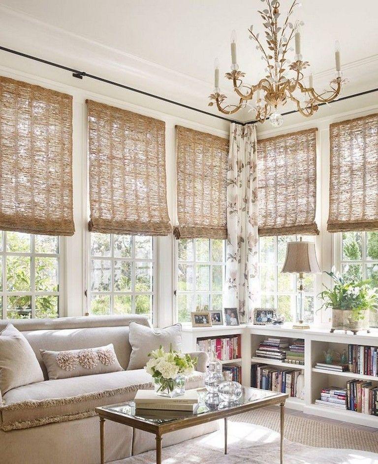 72+ Comfy Modern Farmhouse Sunroom Decor Ideas images