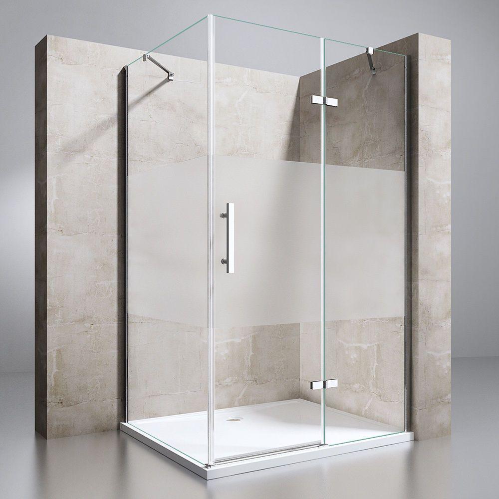 echtglas duschkabine duschabtrennung dusche duschwand duschtasse ravenna28ms in heimwerker bad. Black Bedroom Furniture Sets. Home Design Ideas