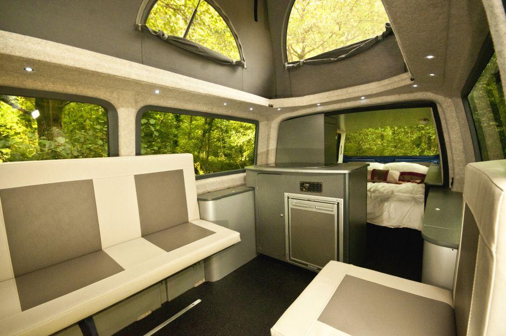 VolksWagen Transporter DoubleBack Luxury Camper Interior