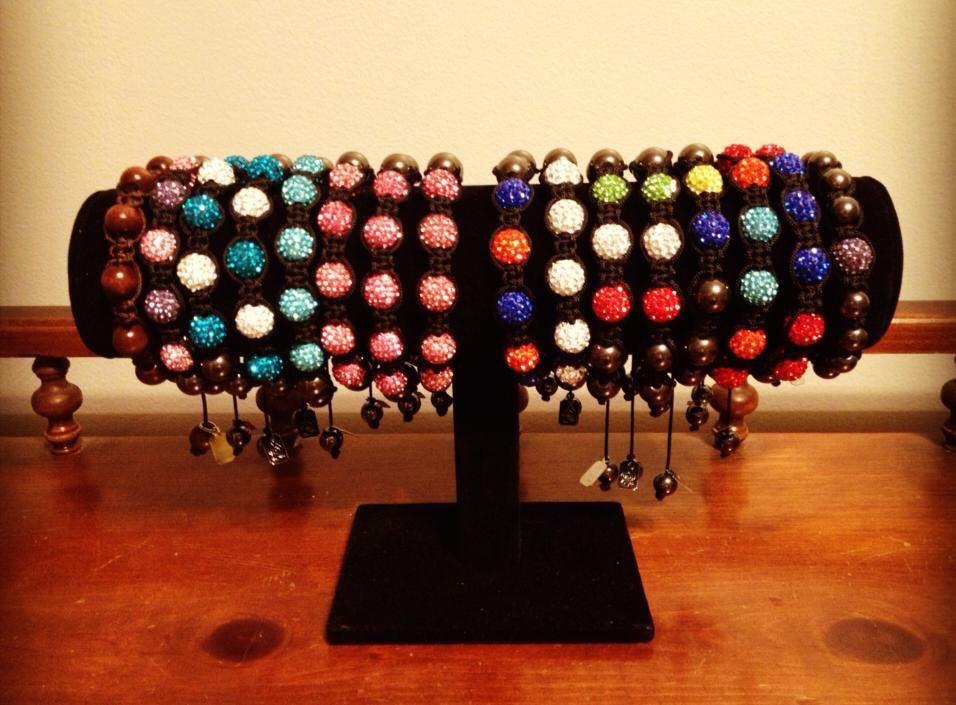 My shamballa bracelets