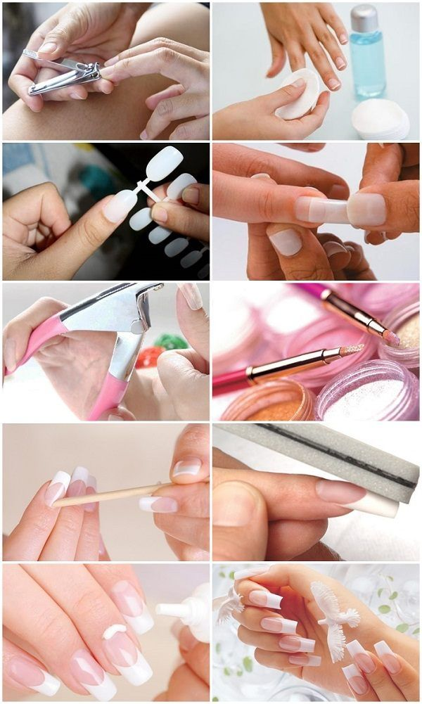 How To Do Acrylic Nails At Home Step By Step Instructions Acrylic Nails At Home Diy Acrylic Nails Gel Nails Diy