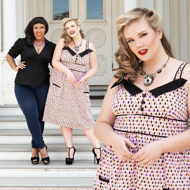 Peak inside our Curvy Kitten Vintage Inspired Lookbook!
