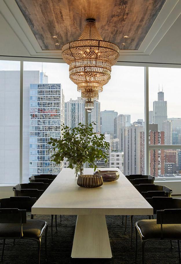 Wonderful penthouse in chicago designed by kara mann best interior design websites pinterest pent house dining and also rh