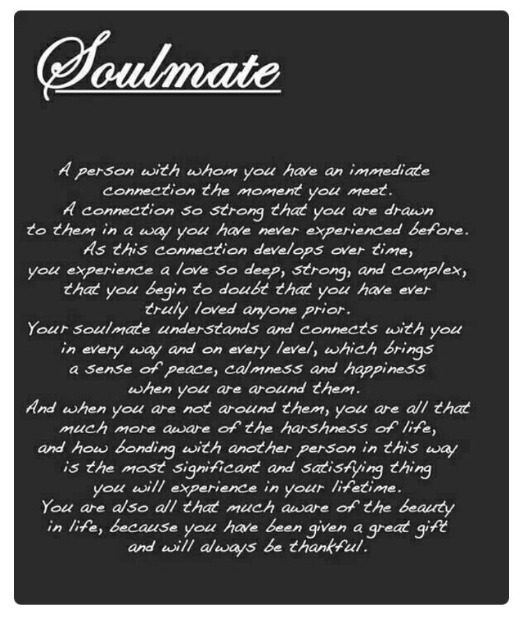 You Are My Soulmate From A Distance Quotes Pinterest Love