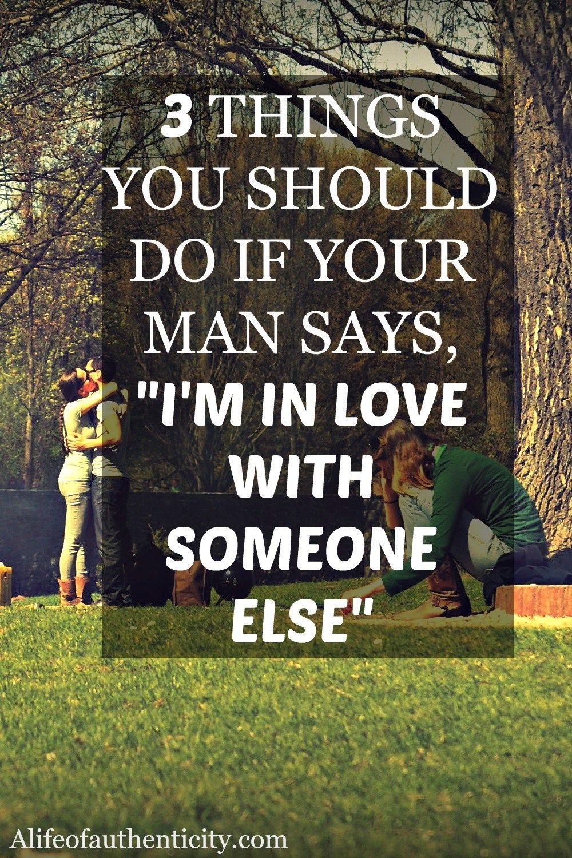 im dating someone but i like someone else