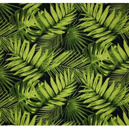 Ebony Tropical Indoor/Outdoor Home Decor Fabric PO1661