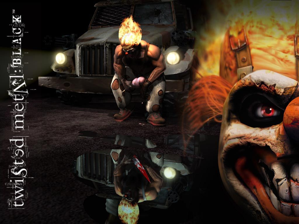 twisted metal sweet tooth | Twisted Metal Black Wallpapers ...