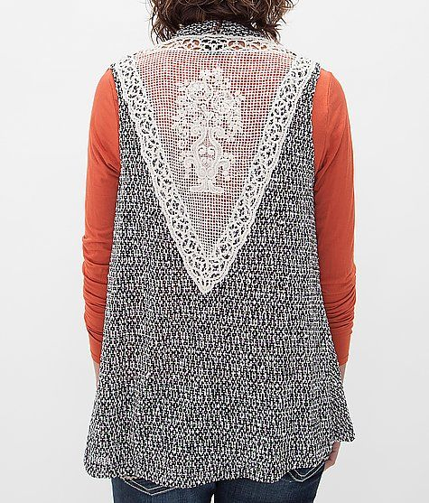 Daytrip Open Weave Sweater Vest at Buckle.com
