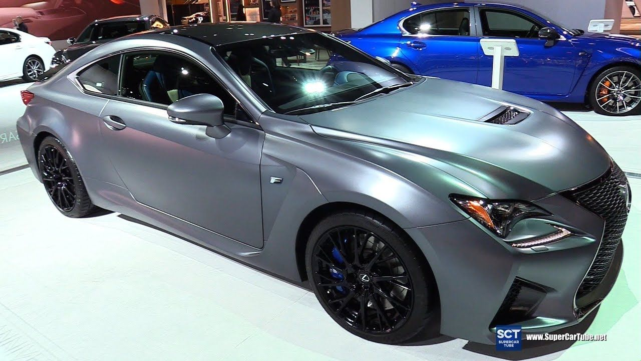2018 Lexus RC F 10th Anniversary Edition Exterior and