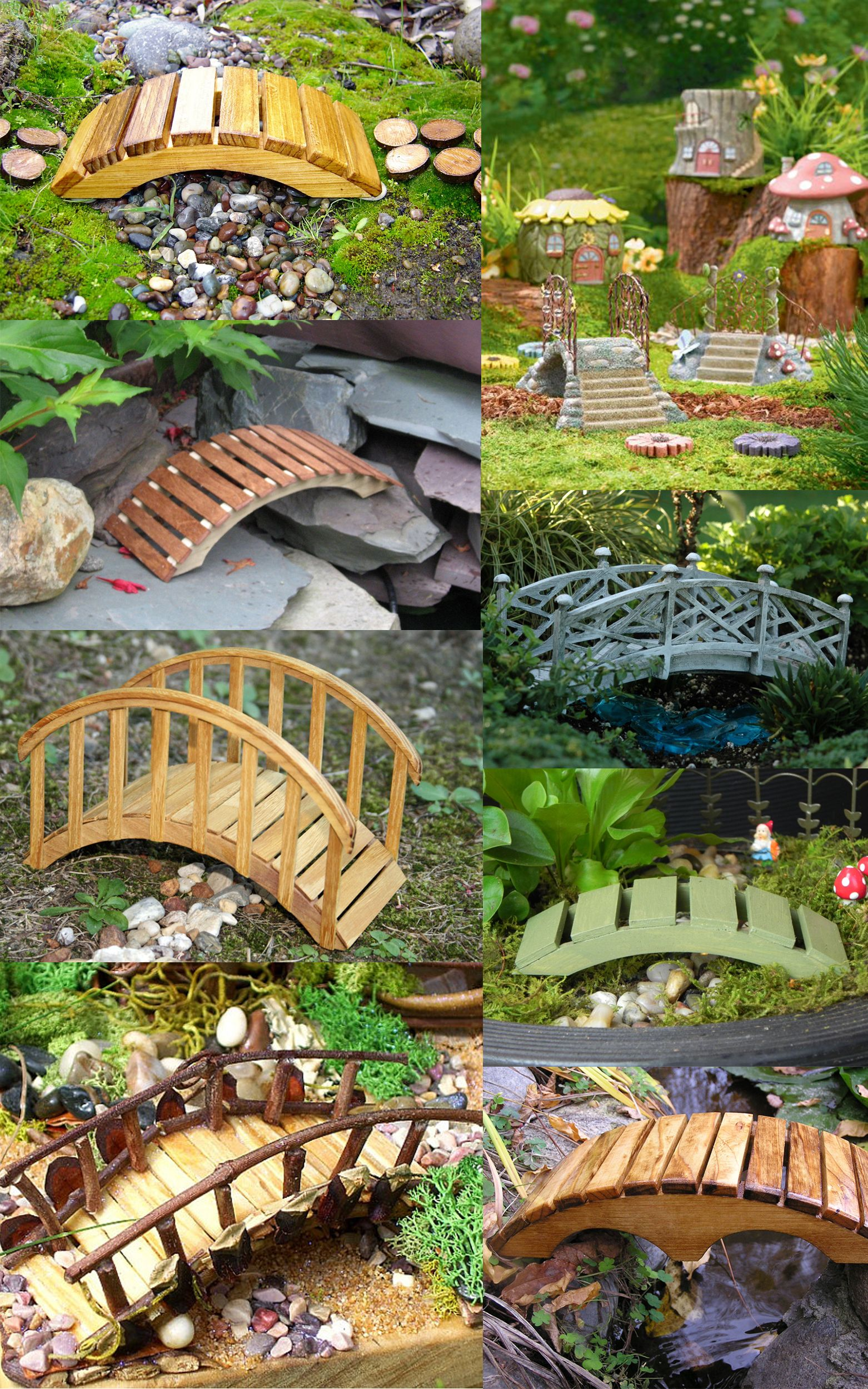 Fairy Garden Bridges 2