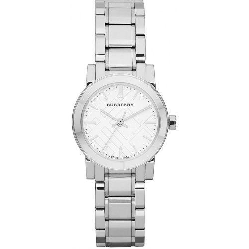 Burberry Silver Dial Stainless Steel Watch BU9200 Women's