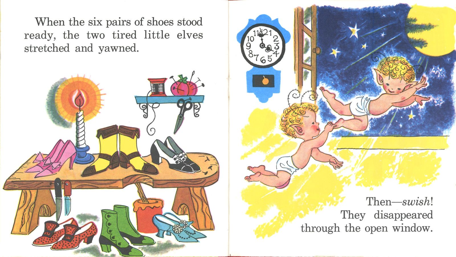 Elves And The Shoemaker Printables