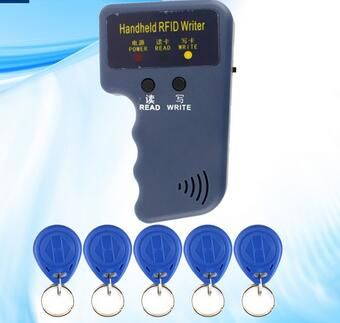Handheld 125KHz EM4100 RFID Copier Writer Duplicator Programmer