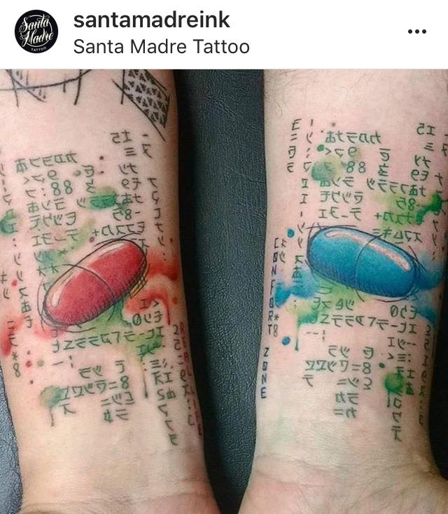 Tattoo Matrix By Pandonauta Tattoo Tattoos Body Art Tattoos
