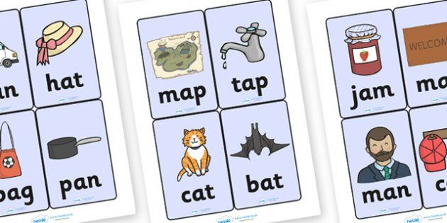 5 letter words beginning with ad cvc word cards a learning activities eyfs cvc 16466