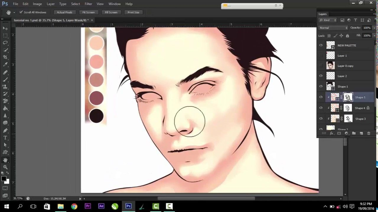 Vexel Art Tutorial Using Photoshop Cs6 Masking Fractal 2