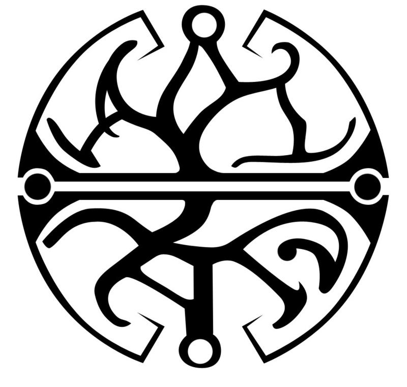 The Longest Journey balance symbol II African tribal