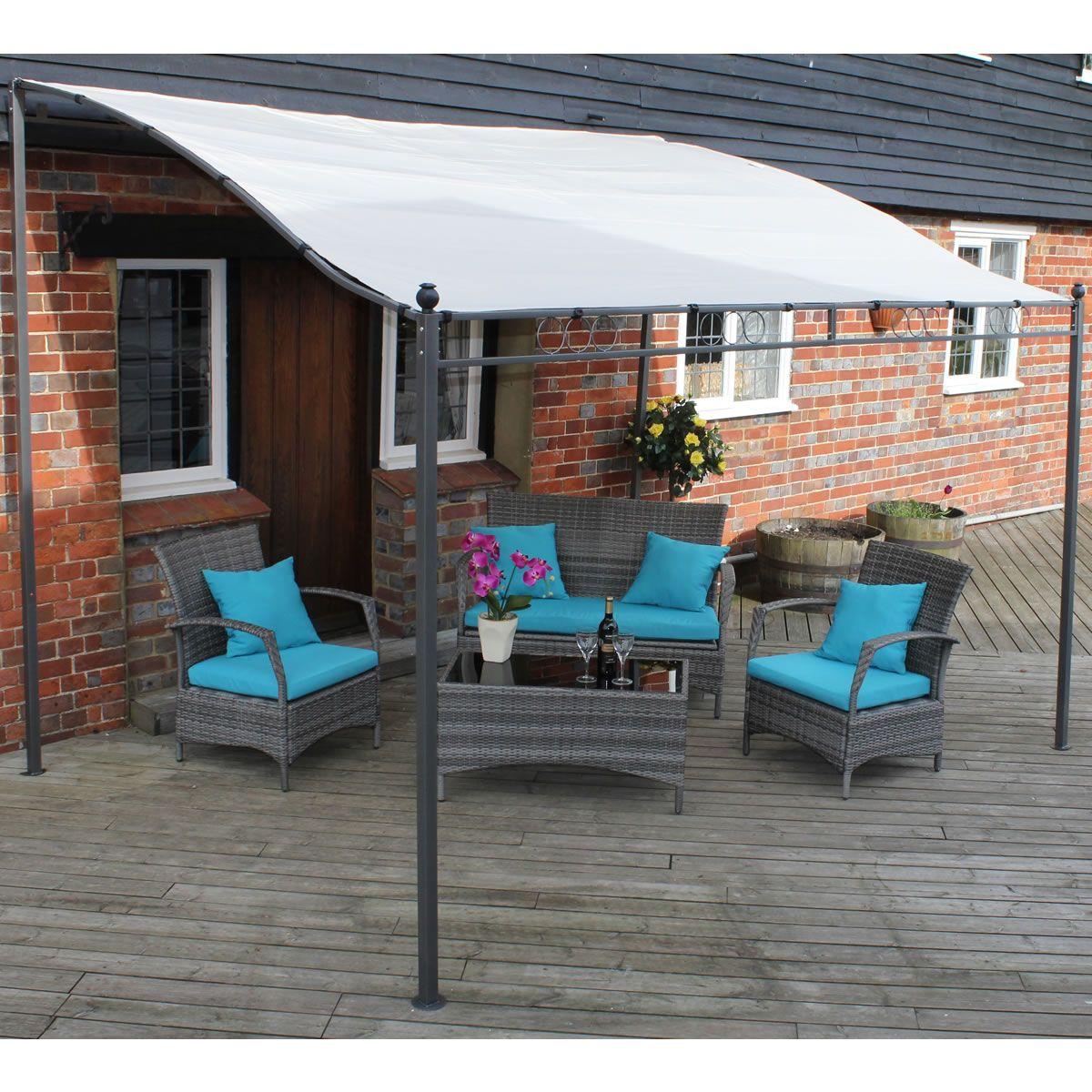 Aluminium Free Standing Canopy Lean To Patio Cover Carport ...