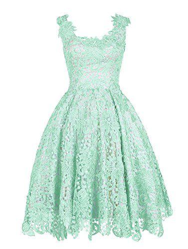 Wedtrend Women's Floral Lace Dress Bridesmaids Dress Short Prom Dress WT11059Mint 20W Wedtrend http://www.amazon.com/dp/B01A0PG2QU/ref=cm_sw_r_pi_dp_Esh.wb1PEHX3B