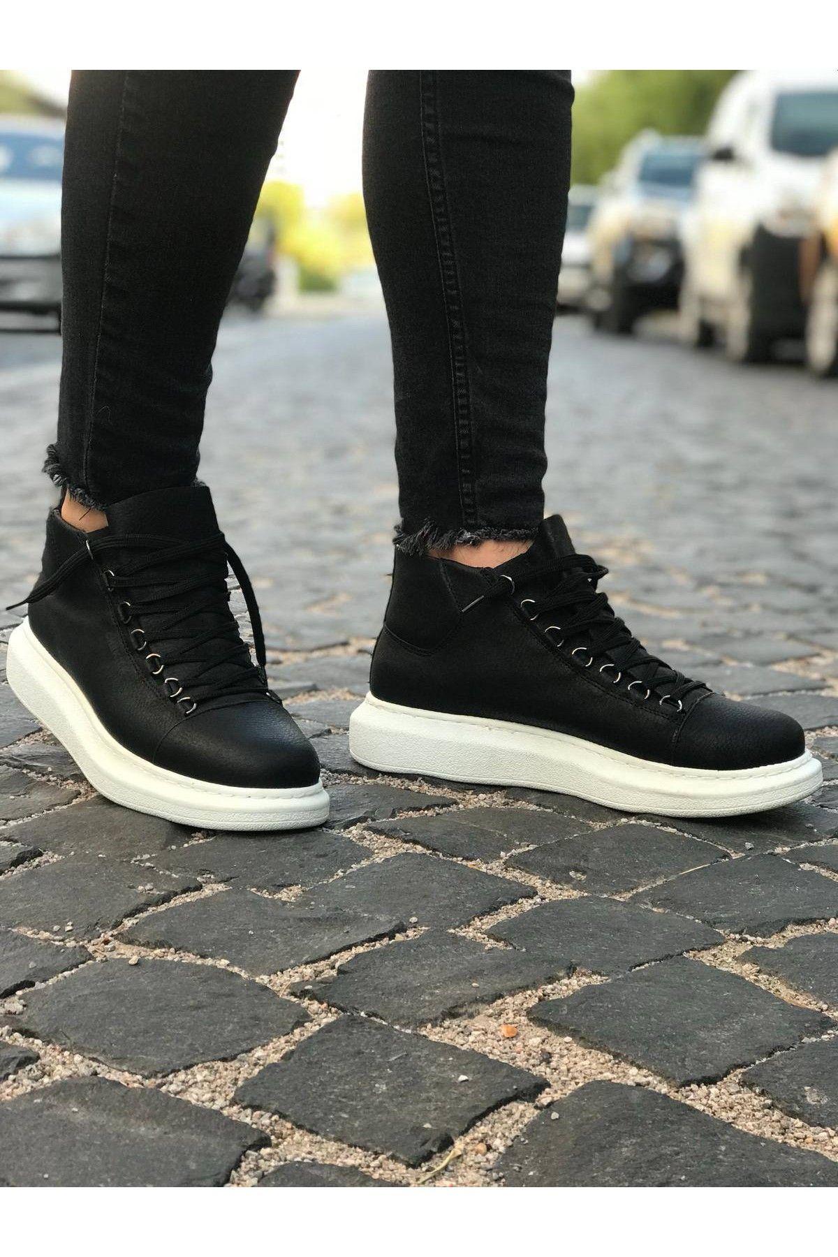d065f2b37 Chekich 0258 B.T Black Men Boot&Sneakers Высокие Кроссовки, Кроссовки  Адидас, Чернокожие Мужчины, Обувь