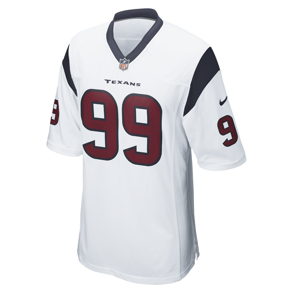 eec4d9341 Nike NFL Houston Texans (J.J. Watt) Men s Football Away Game Jersey Size