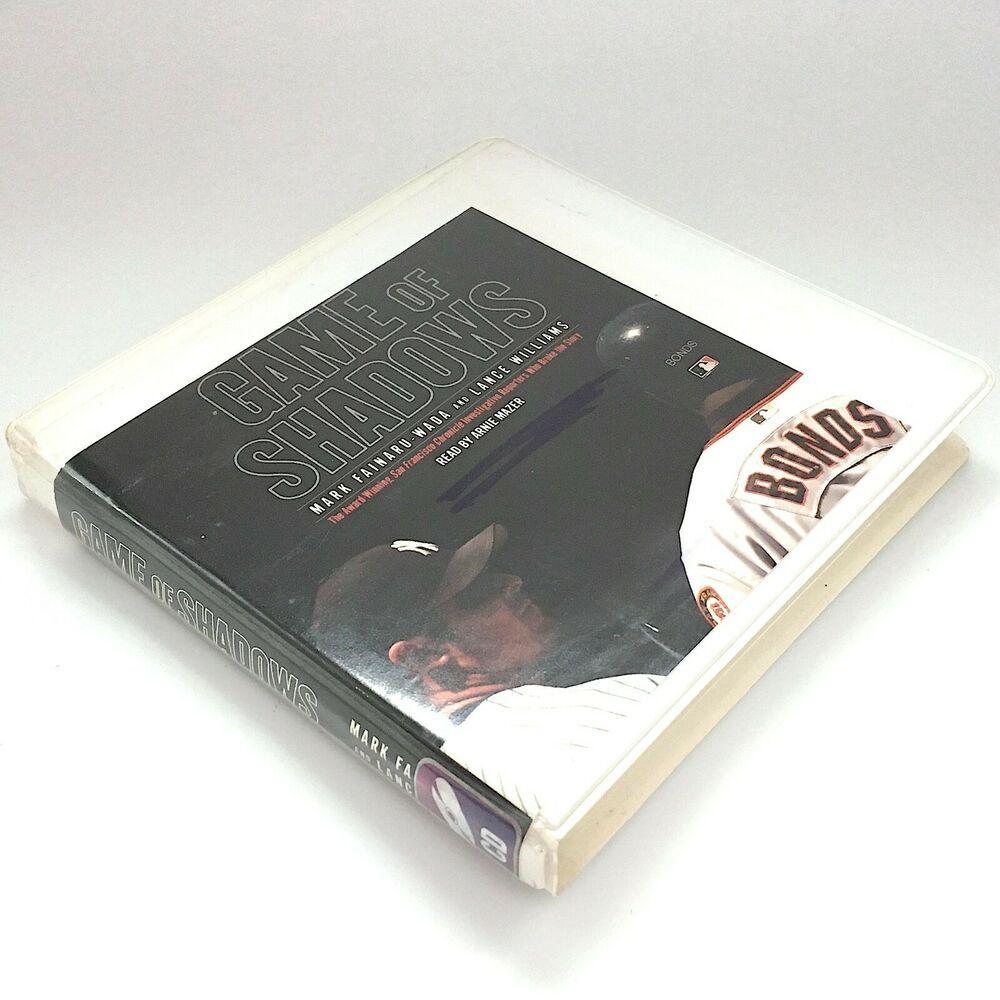 Game Of Shadows Barry Bonds Audiobook 5 CDs 6 Hrs Abridged