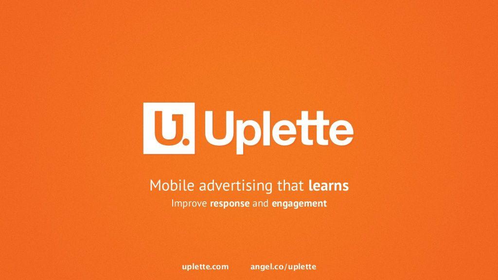 Uplette by 500 Startups via slideshare
