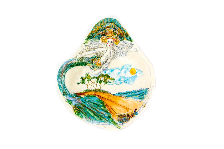 kitchenaid ceramic bowl mermaid lace