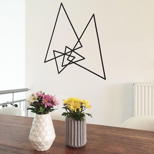 living washi tape ideas pinterest wanddeko zimmer gestalten und studentenwohnungen. Black Bedroom Furniture Sets. Home Design Ideas