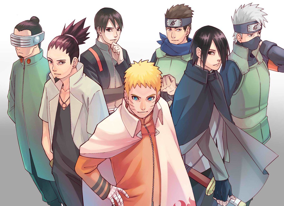 Boruto Naruto Next Generations Наруто