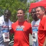 The McCourty Twins: Jason and Devin at their Tackle Sickle Cell Walk in Jersey City #nfl #football #patriots #rutgers