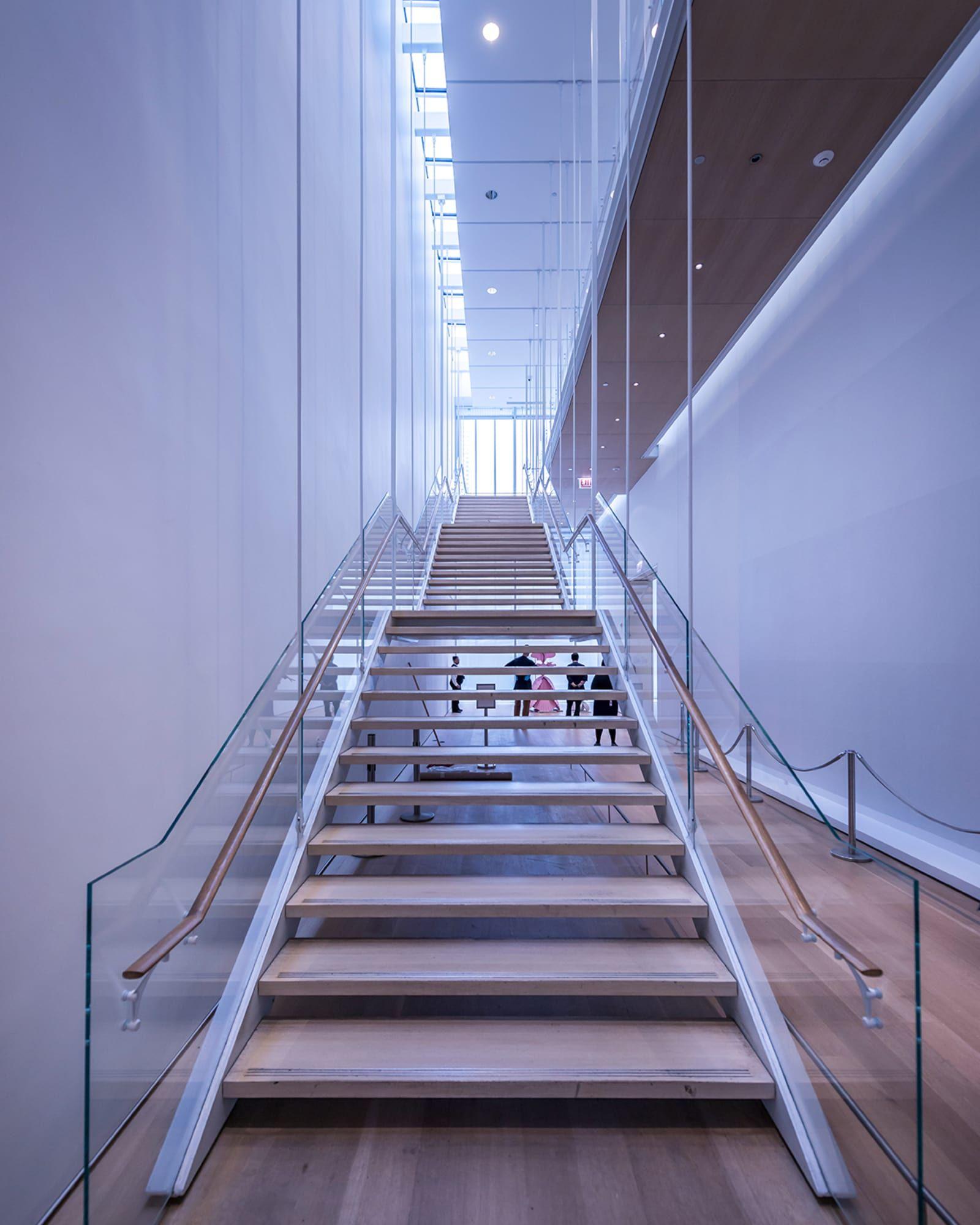 Renzo Piano Building Workshop Pygmalion Karatzas Modern Wing At The Art Institute Of Chicago Renzo Piano Art Institute Of Chicago Piano Stairs