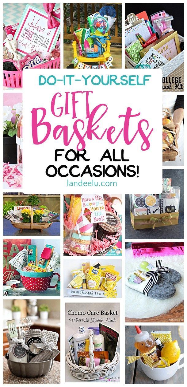Do it yourself gift basket ideas for all occasions regalitos y bolsos put together a gift basket for any occasion and make someones day easy do it solutioingenieria Image collections