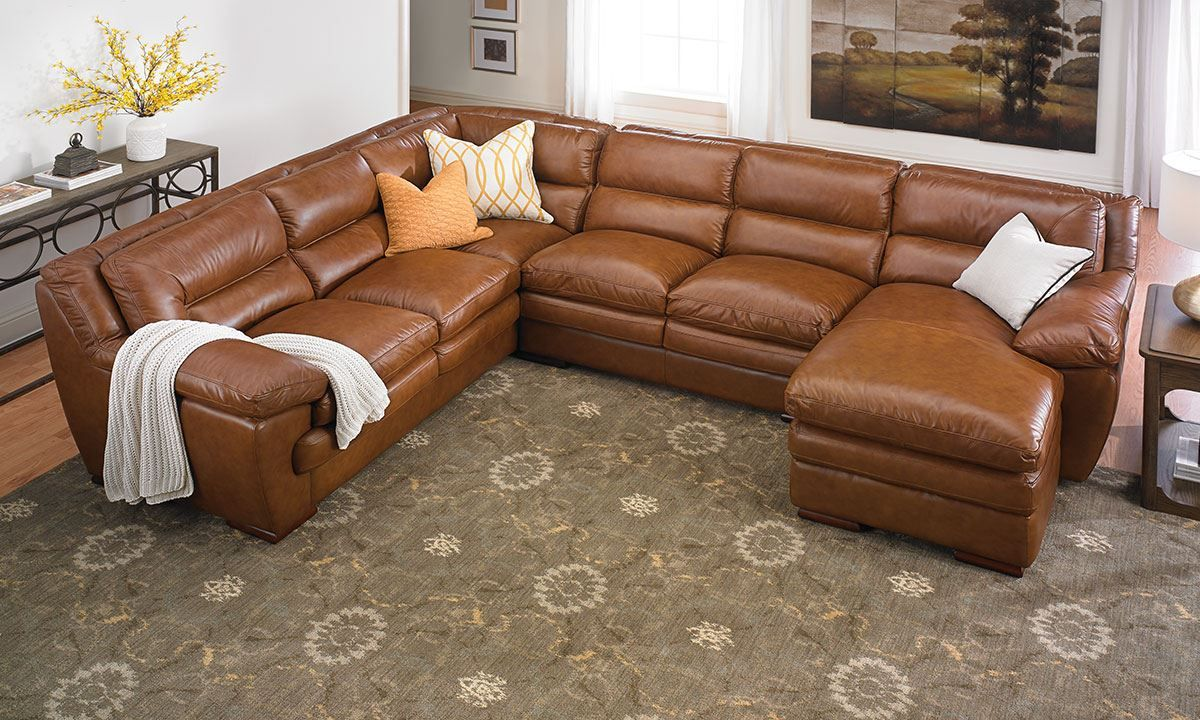 Seating Furniture Leather Sectional Sofa In 2020 Sectional